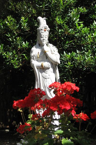 Zen Garden Statue